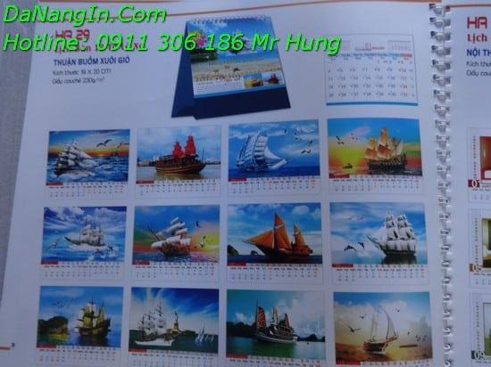 Lịch Để Bàn In Lịch Tết 2016 Tại Đà Nẵng Giá Rẻ LH 0911 306 186 Mr Hưng