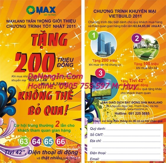 In Tờ Rơi Menu tại đà nẵng giá rẻ nhất thị trường LH 0905 755 597 Mr Huy