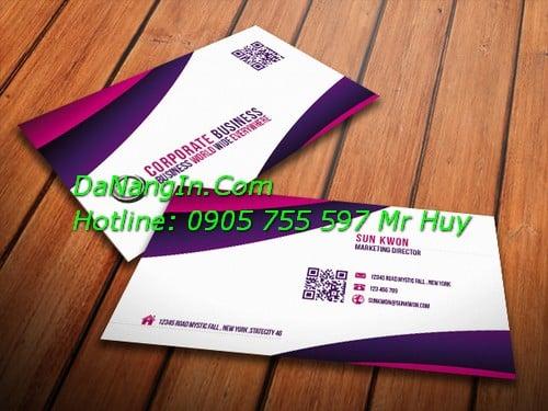 In Ấn tại Đà Nẵng In danh thiếp namecard LH 0905 755 597 Mr Huy