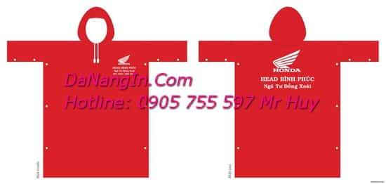 In logo trên áo mưa tại đà nẵng chuyên nghiệp LH 0905 755 597