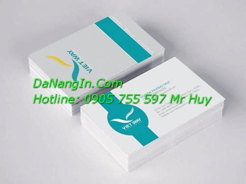 In Name card visit tại đà nẵng giá rẻ mẫu mã đẹp Hotline 0905 755 597 Mr Huy