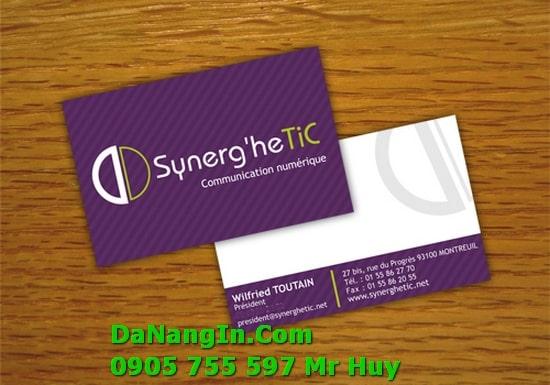 In Danh Thiếp Name Card Visit Tại Đà Nẵng Lấy Gấp 247