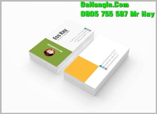In Nhanh Name Card Danh Thiếp Giá Rẻ Lấy Gấp 0905 755 597