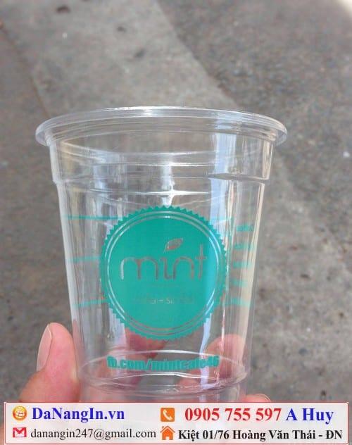 ở đâu in ly nhựa nắp cầu trà sữa giá rẻ 0905 755 597 danangin.vn