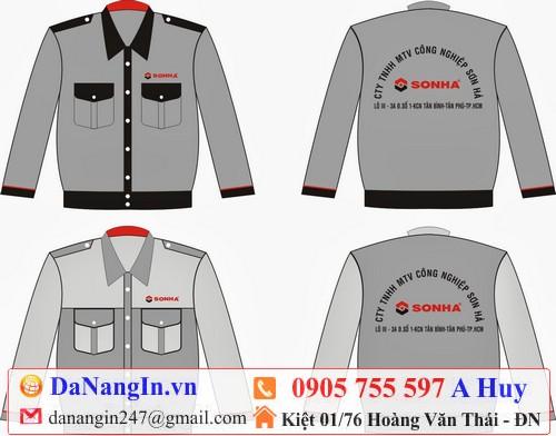 `in logo lên áo bảo hộ lao động tại đà nẵng 0905 755 597