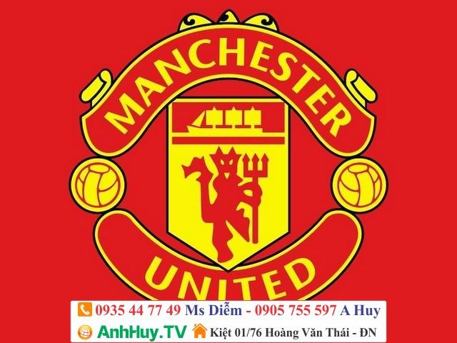 In Logo Clb Bóng Đá Mu Manchester United lh 0935 447 749