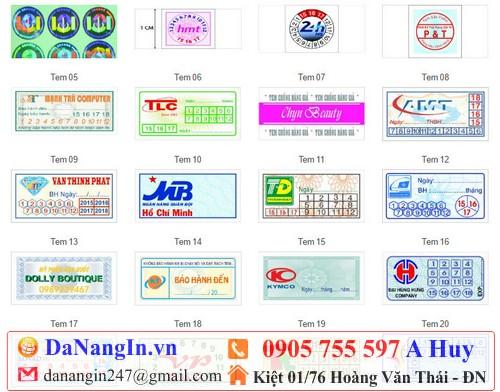 An Tín Danangin.vn chuyên in tem vỡ dán bảo hành máy tính linh kiện giá rẻ 0905 755 597 A Huy, in đẹp chất lượng độc lạ,in kỹ thuật số offset công nghiệp các loại,in quà tặng logo lấy gấp