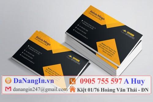 mẫu card visit giá rẻ quận cẩm lệ 0905 755 597