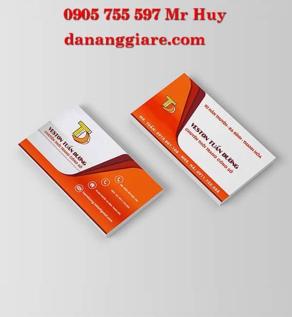card visit lấy gấp lấy nhanh đà nẵng giá rẻ offset 0905 755 597