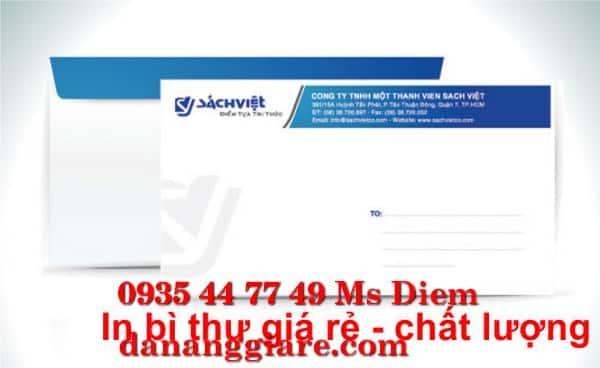 In ấn phong bì lấy ngay giá rẻ tại Đà Nẵng 0905 755 597 Mr Huy