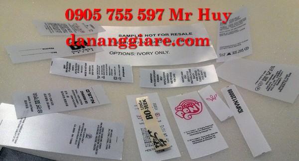 nhãn mác quần áo satin 0905 755 597 Huy Bùi