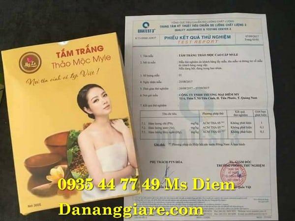 TẮM TRẮNG THẢO MỘC MYLE 0935447749 Ms Diễm
