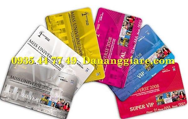 in thẻ nhựa thẻ VIP giá rẻ Đà Nẵng 0905 755 597 Ms Huy in card