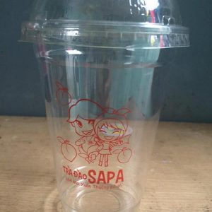 in ly nhựa đà nẵng, in ly nắp cầu, in logo lên ly trà sữa, LH 0935 44 77 49 Ms Diễm,