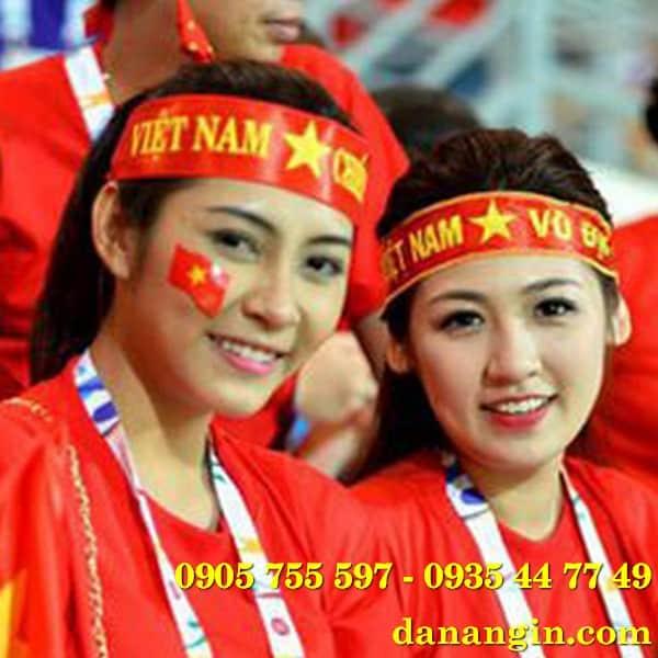 băng rôn cỗ vũ bóng đà tại đà nẵng giá rẻ 0905 755 597