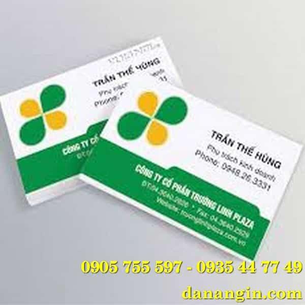 địa chỉ in name card visit lấy gấp giá rẻ 0935 44 77 49
