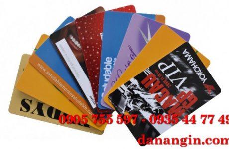 in thẻ nhựa – thẻ VIP giá rẻ Đà Nẵng 0901 99 40 88