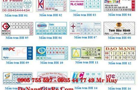 in tem bảo hành tại đà nẵng 0935 44 77 49 danangin 0905755597