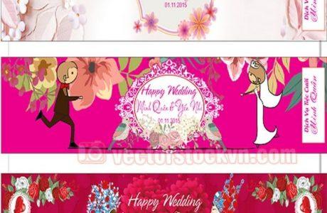 in nhãn dán chai nước suối đám cưới tại đà nẵng LH 0935 44 77 49 Ms Diễm - 0905 755 597 A Huy