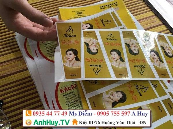 làm sticker dán sản phẩm chai lọ hủ bịch , LH 0935 44 77 49 Ms Diễm