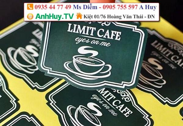 in ly nhựa trà sữa logo dán sản phẩm 0935447749 ANH HUY TV
