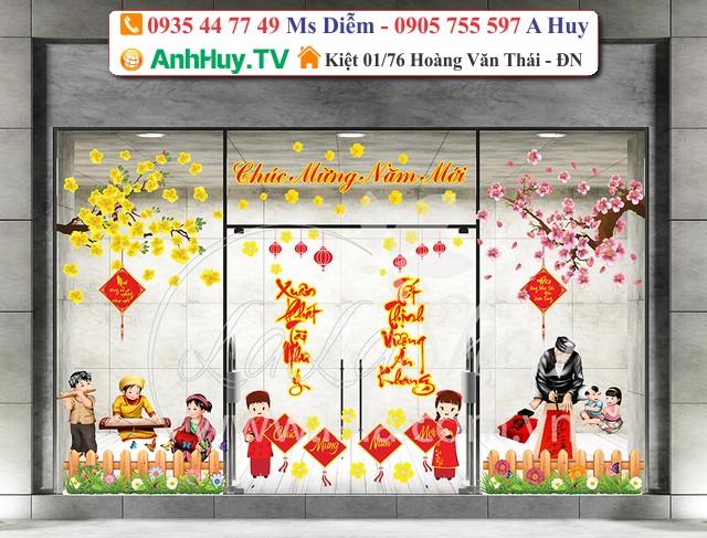 In Decal Dán Kính Đà Nẵng LH 0935447749 Xuân Diễm