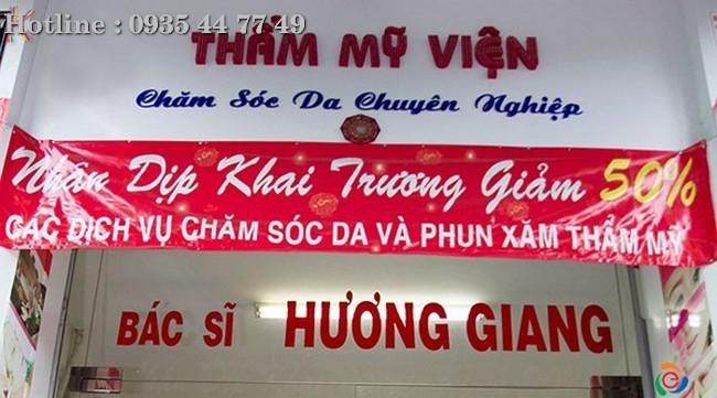 Mẫu bảng hiệu Salon, Bảng hiệu tiệm tóc đẹp Liên hệ 0706755597 Xuân Diễm   Anh Huy TV
