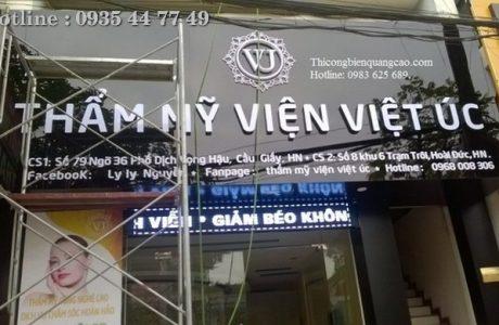 Mẫu bảng hiệu Salon, Bảng hiệu tiệm tóc đẹp Liên hệ 0706755597 Xuân Diễm | Anh Huy TV