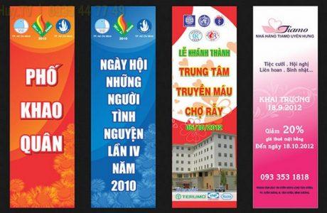 In Băng Rôn Vải Hiflex Tại Đà Nẵng Giá Rẻ Anh Huy TV 0935447749