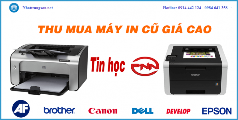 Thu mua máy in cũ giá tốt nhất ở Đà Nẵng
