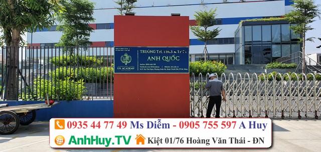 Làm Bảng Hiệu Đà Nẵng Quảng Cáo Alu Led Mica Hiflex Giá Rẻ 0935447749