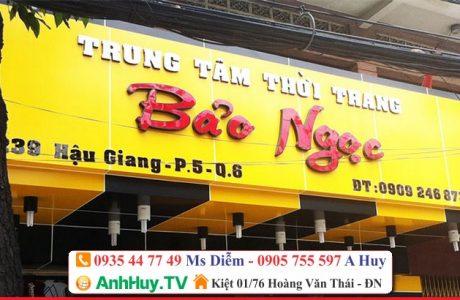 Làm bảng hiệu quảng cáo Alu, Thi công Alu tại Đà Nẵng 0935447749