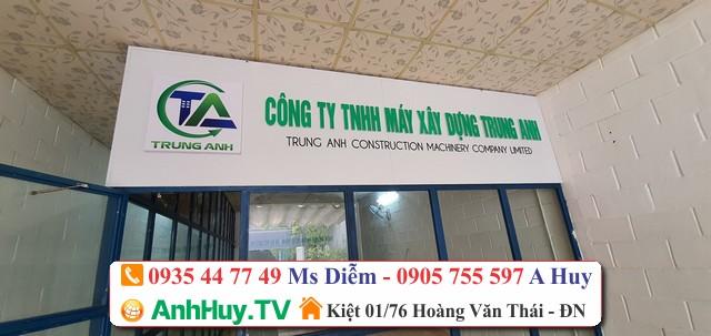 Thiết kế in ấn thi công bảng hiệu quảng cáo Anh Huy TV