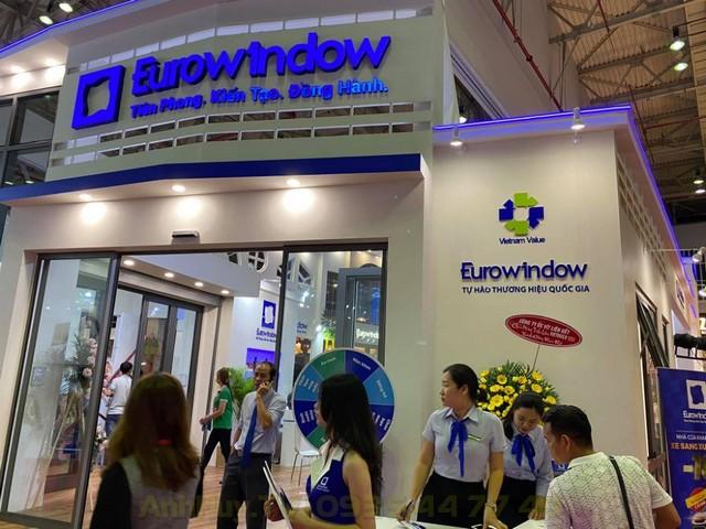 Làm Bảng Hiệu Gian Hàng Hội Chợ Vietbuild Đà Nẵng Anh Huy TV 0935447749