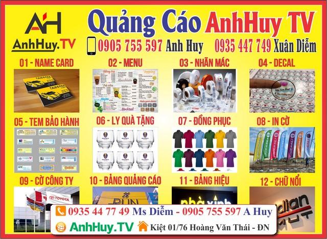 Báo giá thi công bảng hiệu quảng cáo tại Đà Nẵng 0705444489