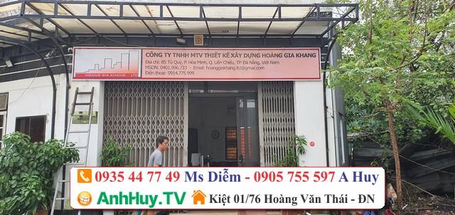 Biển hiệu quảng cáo Đà Nẵng Anh Huy TV 0935447749 Thiết kế in ấn giá rẻ 247