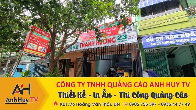 Làm bảng hiệu hộp đèn cửa hàng tạp hóa các loại tại Đà Nẵng đẹp nhanh chất lượng