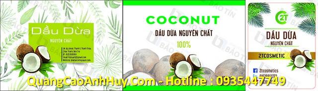 Dầu dừa nguyên chất Organic Cocoxim liên hệ 0905 755 597