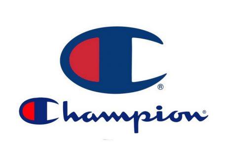 In Sticker ủi logo champion độc đáo thời trang